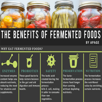 Benefits of fermented foods image