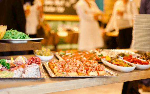 Food Blurred image