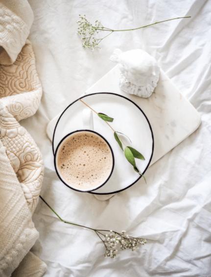 bed tea image