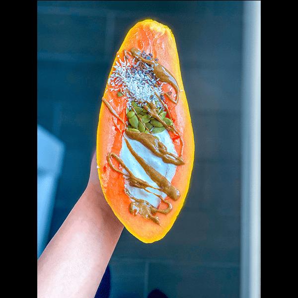 Papaya and Food image