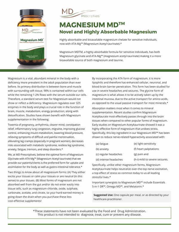 Magnesium MD Probiotic